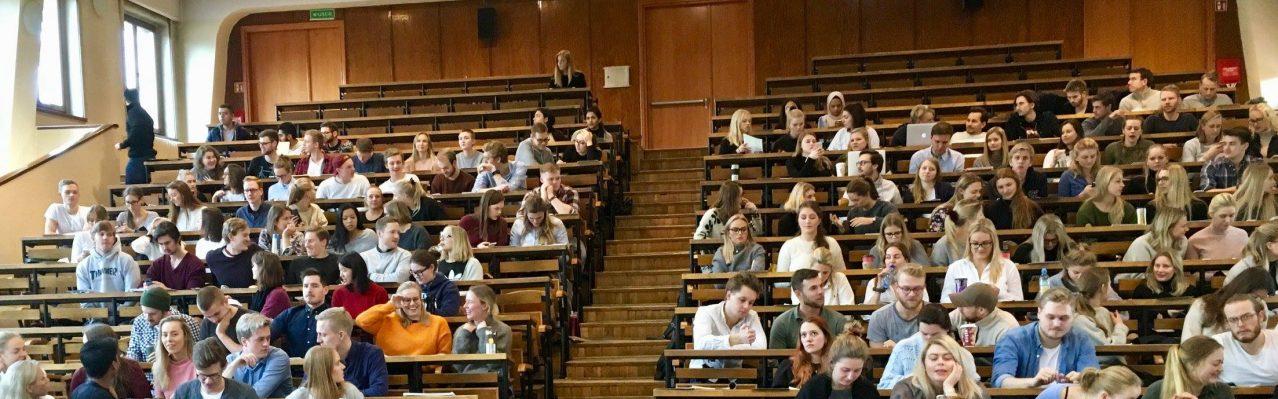 Norske medisinstudenter i Krakow